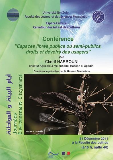 affiche conference Hrrouni