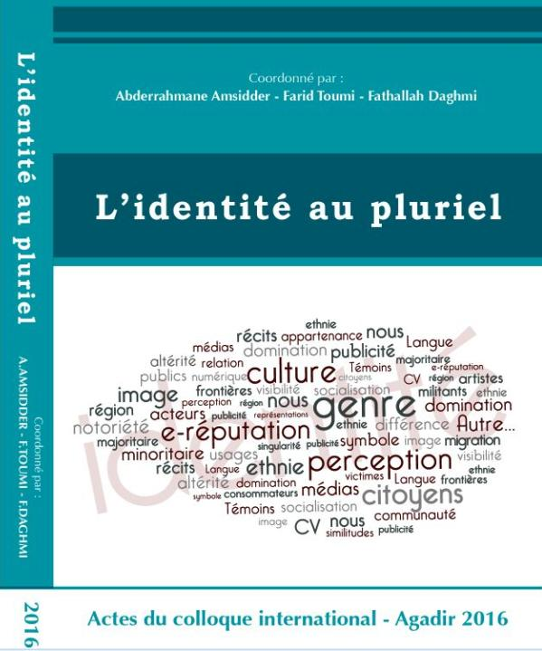 Actes du colloque international - L'identité au pluriel 2016