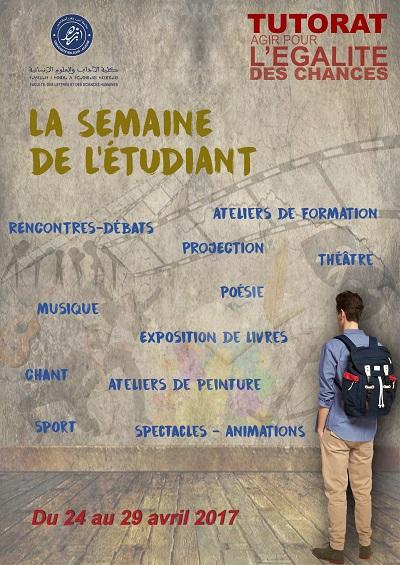SAMAINE DE L'ETUDIANT