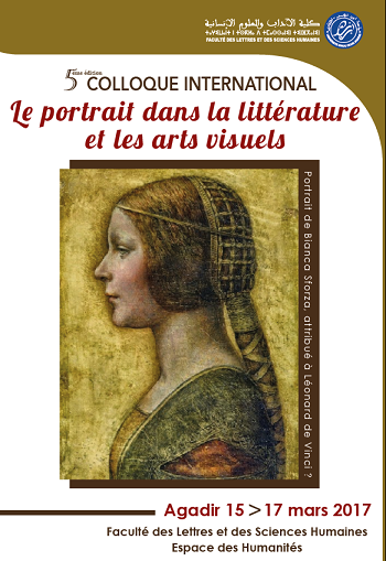 Affiche colloque portrait