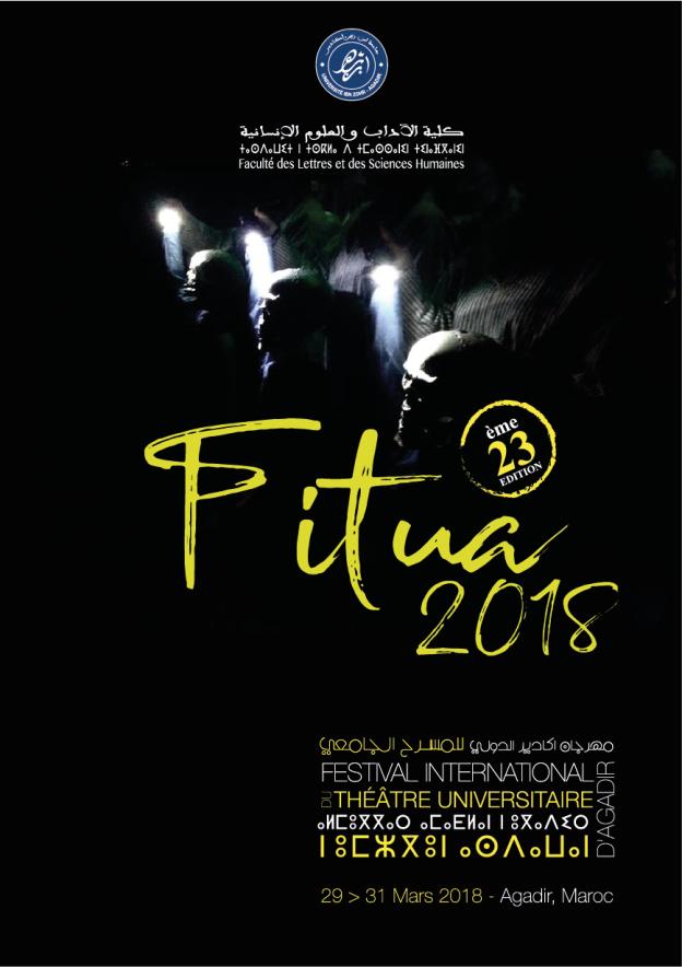 Affiche provisoire FITUA 2018