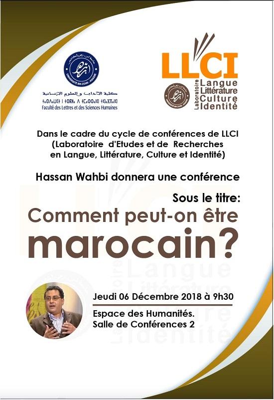 conférence Hassan Wahbi LLCI 6 dec 2018