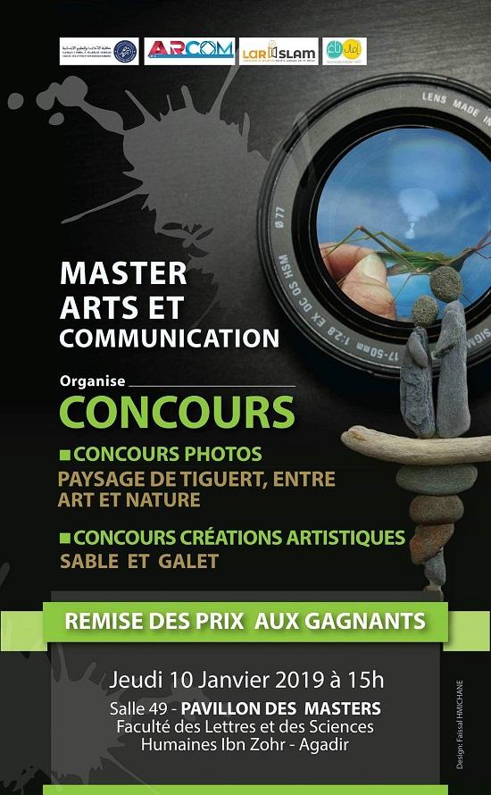 Affiche concours Master ARCOM
